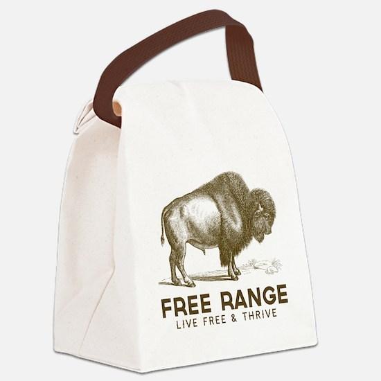 Free Range Canvas Lunch Bag