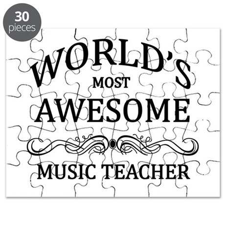 World's Most Awesome Music Teacher Puzzle