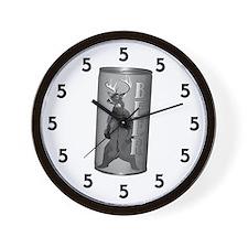 Beer Hour 5 oclock Wall Clock