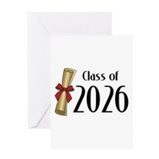 Class of 2026 Diploma Greeting Card