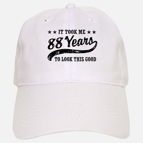 Funny 88th Birthday Baseball Baseball Cap