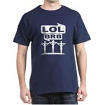 Jesus BRB LOL T-Shirt (Blue) M