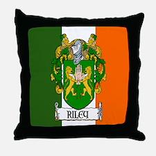Riley Arms Flag Throw Pillow
