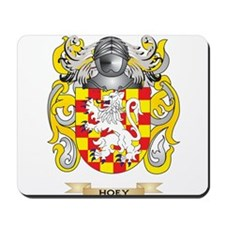 Hoey Coat of Arms (Family Crest) Mousepad