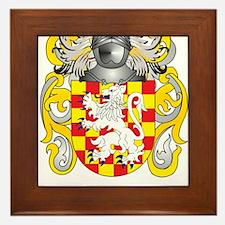 Hoey Coat of Arms (Family Crest) Framed Tile