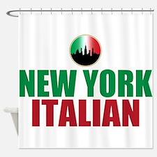 New York Italian Shower Curtain