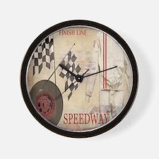 Speedway Wall Clock
