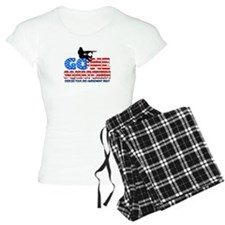 Gone Squatchin USA Pajamas