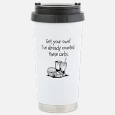 Counted These Carbs Travel Mug