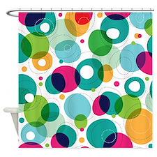 Fun Bubbles Shower Curtain