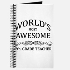 World's Most Awesome 7th. Grade Teacher Journal