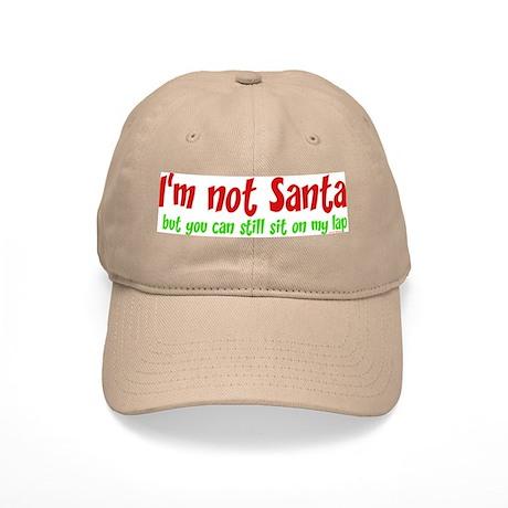 I'M NOT SANTA.... Cap