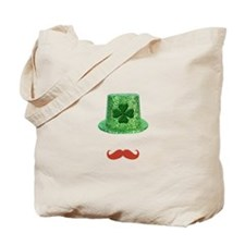 St Patrick's Day Sparkle Hat & Ginger Mustache Tot