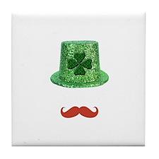 St Patrick's Day Sparkle Hat & Ginger Mustache Til
