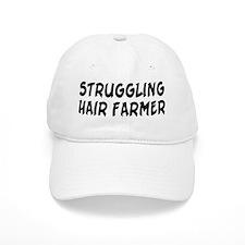 Struggling Hair Farmer Baseball Cap