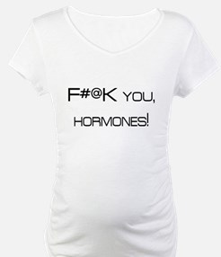 Knocked UP quote - F@#K You Hormones Shirt