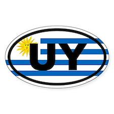Uruguay UY Decal