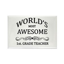 World's Most Awesome 1st. Grade Teacher Rectangle