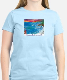 Moonstone Beach, Cambria CA T-Shirt