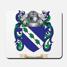 Hollingsworth Coat of Arms (Family Crest) Mousepad