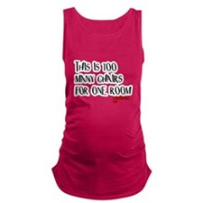 Knocked UP Too Many Chairs Maternity Tank Top