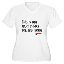 Knocked UP Too Many Chairs T-Shirt