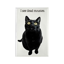 I See Dead Mousies Rectangle Magnet