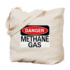 Danger Methane Gas Tote Bag