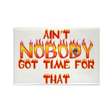 Ain't Nobody Got Time Sweet Brown Rectangle Magnet