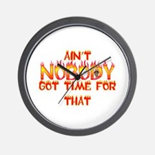 Ain't Nobody Got Time Sweet Brown Wall Clock