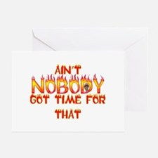 Ain't Nobody Got Time Sweet Brown Greeting Card