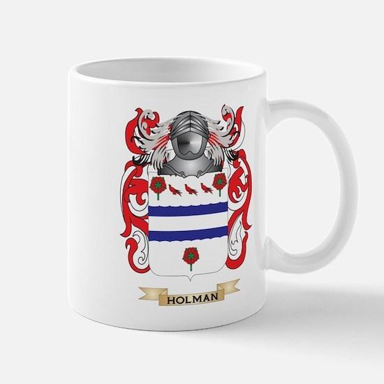 Holman Coat of Arms (Family Crest) Mug