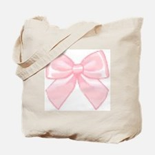 Girly Bow Tote Bag