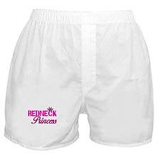 Hot Pink Rebel Redneck Princess Boxer Shorts