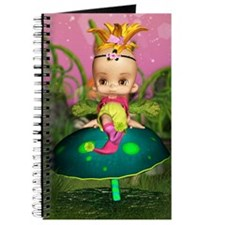 Just A Little Bit Cute Fantasy Baby Fairy Journal