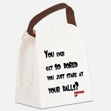 Knocked UP Balls Canvas Lunch Bag