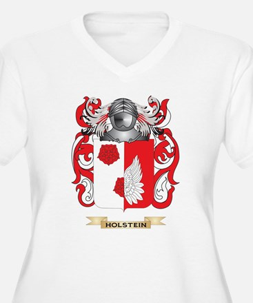 Holstein Coat of Arms (Family Crest) Plus Size T-S