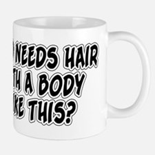 Who Needs Hair? Small Small Mug