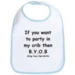 Bring Your Own Bottle to Party Bib