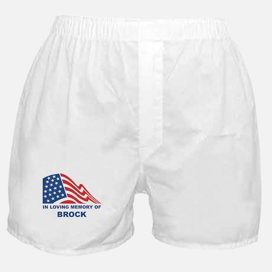 Loving Memory of Brock Boxer Shorts