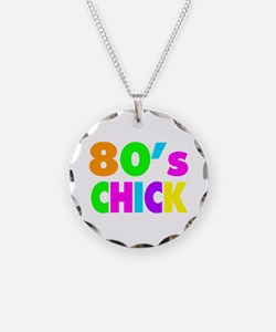 Neon Colors 80's Chick Necklace