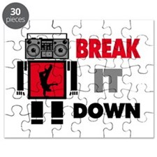 B Boy Boombox Robot Break It Down Puzzle