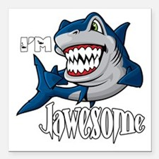 """I'm Jawesome Square Car Magnet 3"""" x 3"""""""