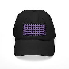 Houndstooth Purple Baseball Hat