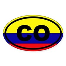 Colombia CO Decal
