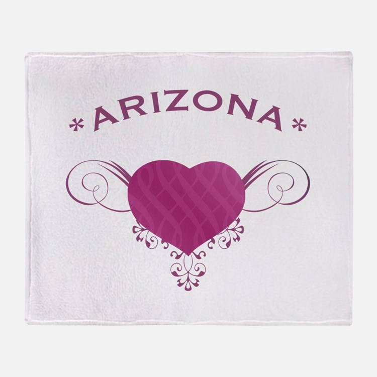 Arizona State (Heart) Gifts Throw Blanket