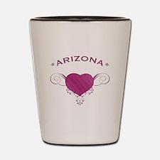 Arizona State (Heart) Gifts Shot Glass