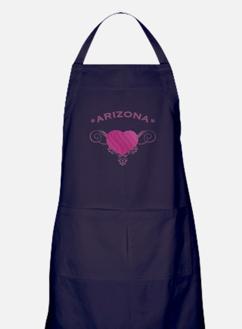 Arizona State (Heart) Gifts Apron (dark)