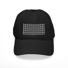 Houndstooth Grey Baseball Hat