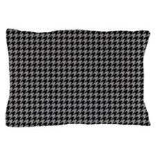 Houndstooth Grey Pillow Case